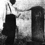 Dan Dutton at Grave of David Day