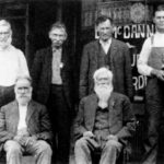 Old-Timers of Bridgeport, Texas (including George S. Hughes)
