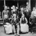 Family of William Zachariah Dutton and Lavina Jane Borden
